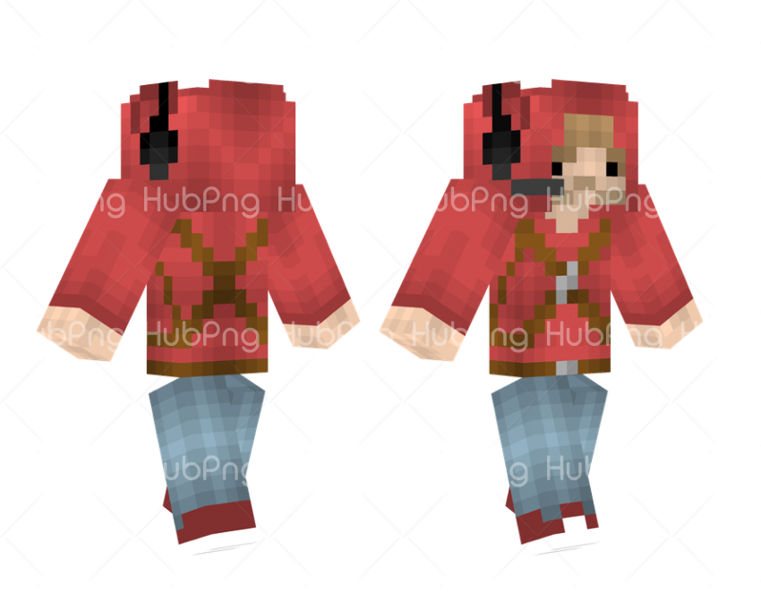 minecraft skins Transparent Background Image for Free