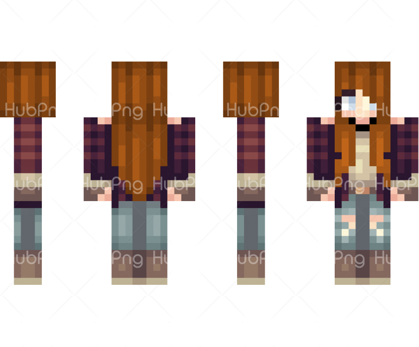 minecraft skins pe pics Transparent Background Image for Free