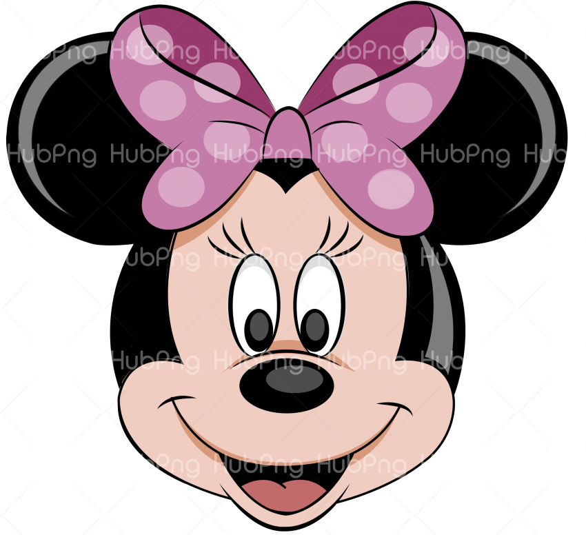 minnie png head hd Transparent Background Image for Free