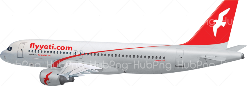 Modern airplane png HD Transparent Background Image for Free
