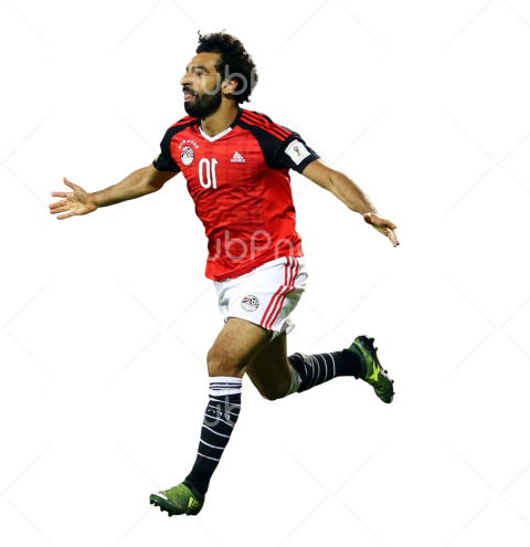 mohamed salah png hd egypt Transparent Background Image for Free