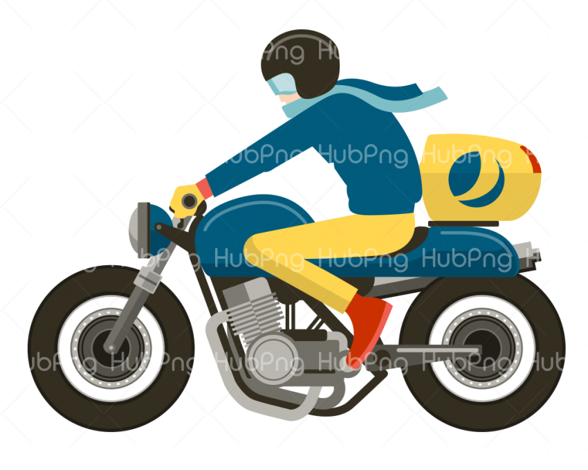 moto png dibujo Transparent Background Image for Free