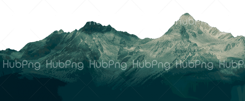mountain png black Transparent Background Image for Free