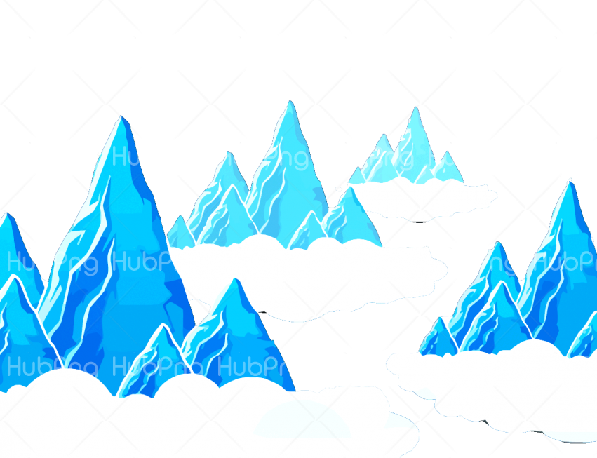mountain png cartoon Transparent Background Image for Free