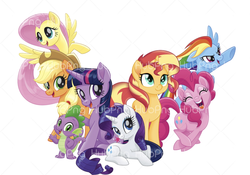my little pony png cartoon Transparent Background Image for Free