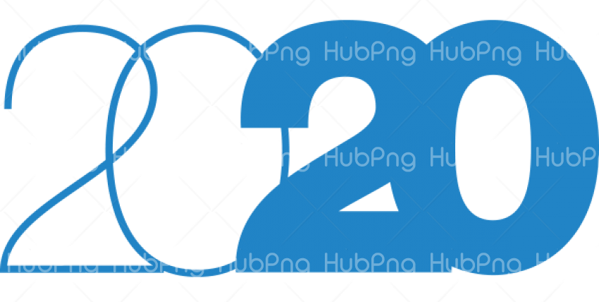 New Year 2020 PNG Photos Transparent Background Image for Free