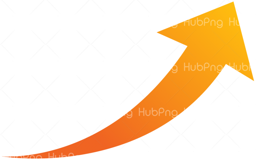orange arrow PNG image Transparent Background Image for Free