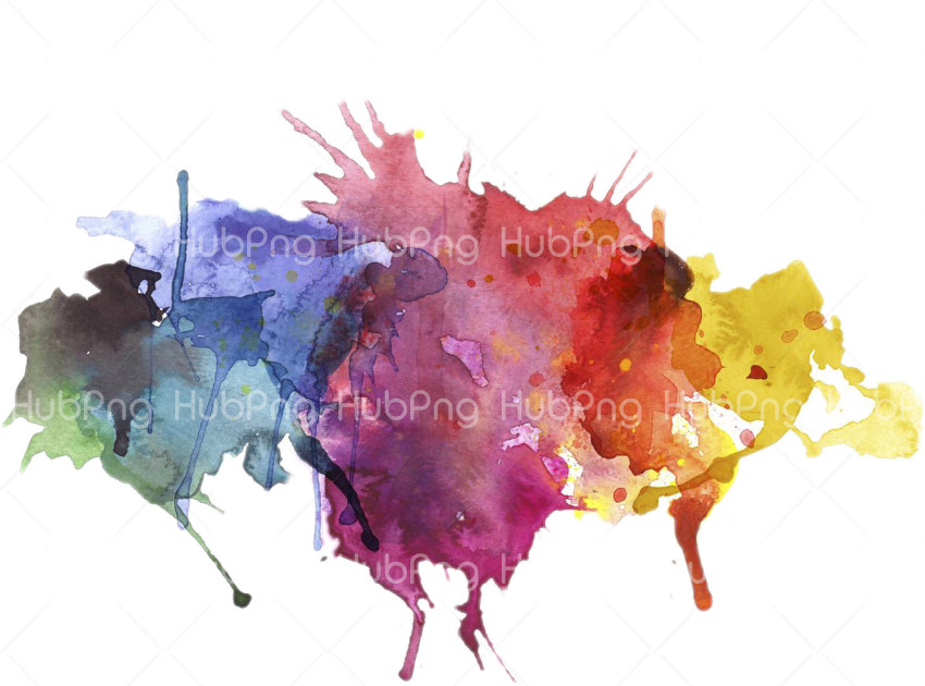 paint splash effect png Transparent Background Image for Free