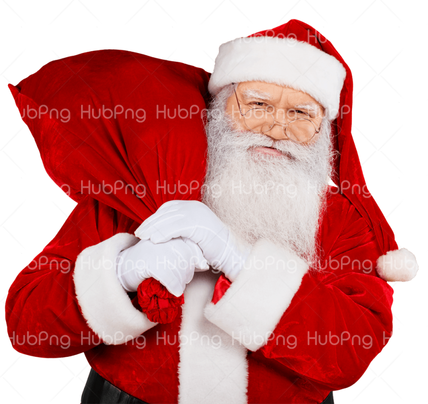 papa noel png santa claus Transparent Background Image for Free