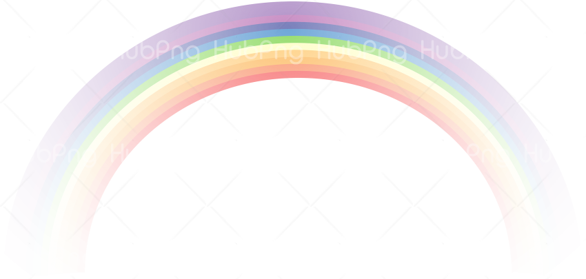pastel rainbow png real Transparent Background Image for Free