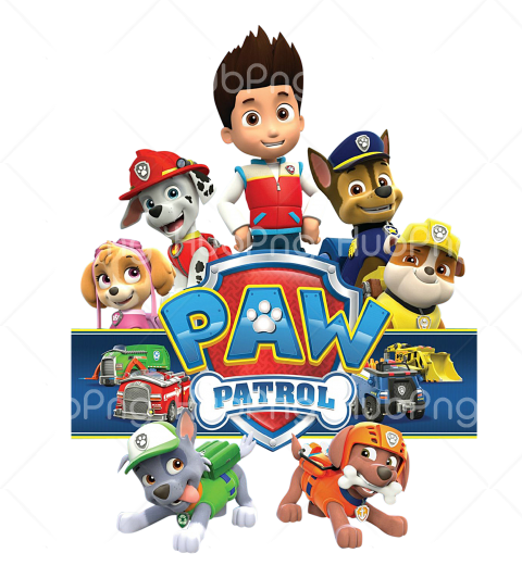 paw patrol png hd Transparent Background Image for Free