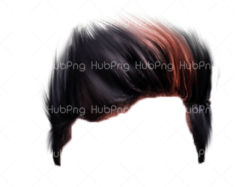 photoshop hair png Transparent Background Image for Free
