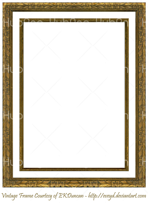 picture frame png Transparent Background Image for Free