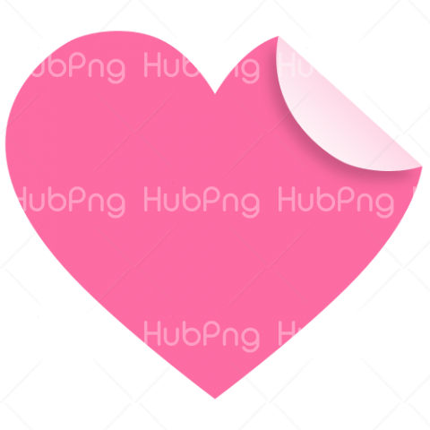 pink heart png clipart Transparent Background Image for Free