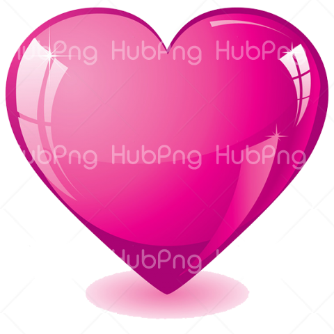 Pink heart png HD Transparent Background Image for Free