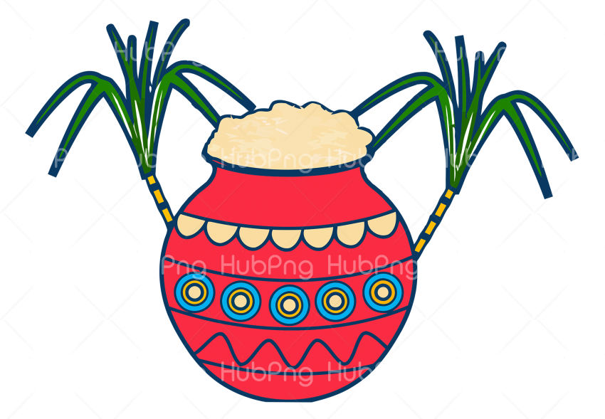 plant flowerpot pongal png Transparent Background Image for Free