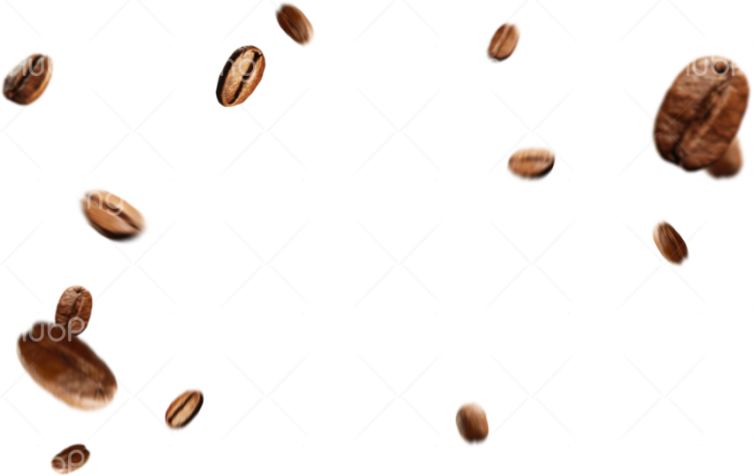 PNG Coffee Beans Transparent Background Image for Free