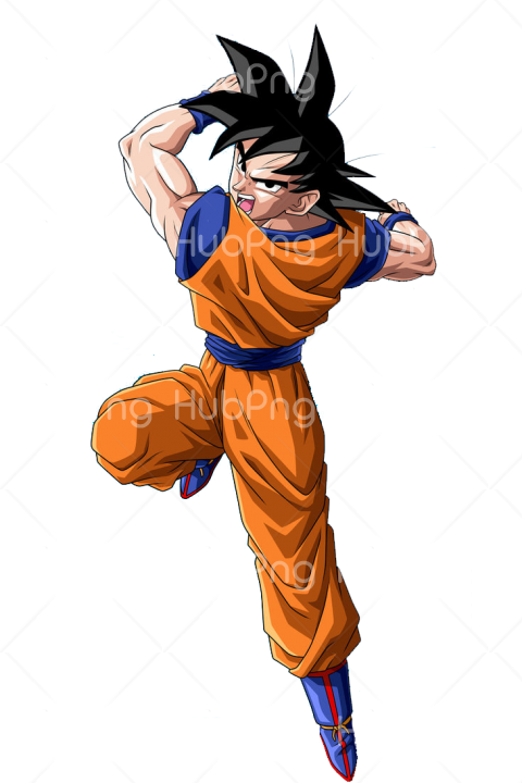 png goku vector Transparent Background Image for Free
