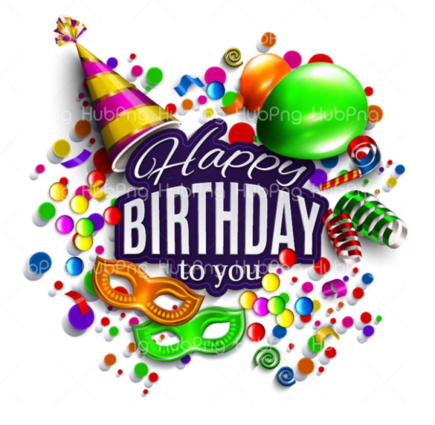 png happy birthday Transparent Background Image for Free