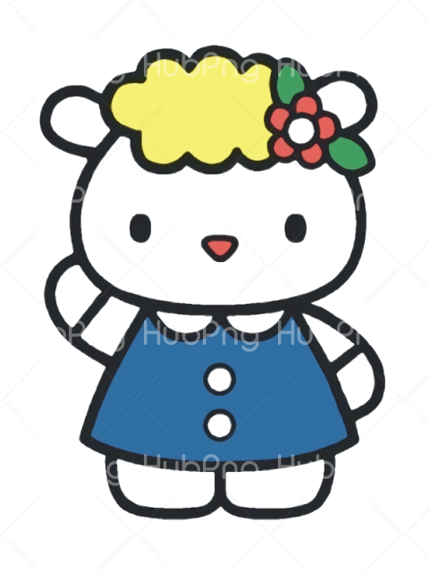 png hello kitty clipart Transparent Background Image for Free