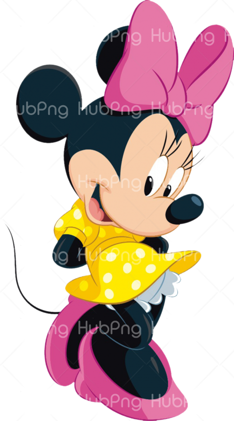 png minnie mouse pink Transparent Background Image for Free