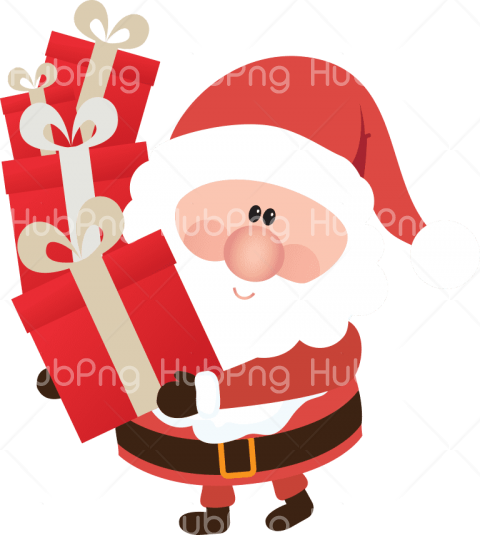 png papa noel santa hat claus png Transparent Background Image for Free