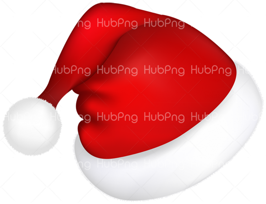 png santa hat clipart Transparent Background Image for Free