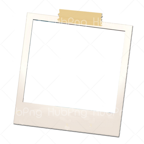 polaroid frame png hd Transparent Background Image for Free