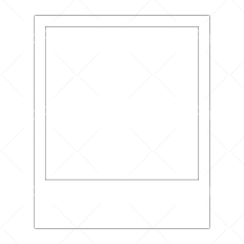polaroid frame png white Transparent Background Image for Free