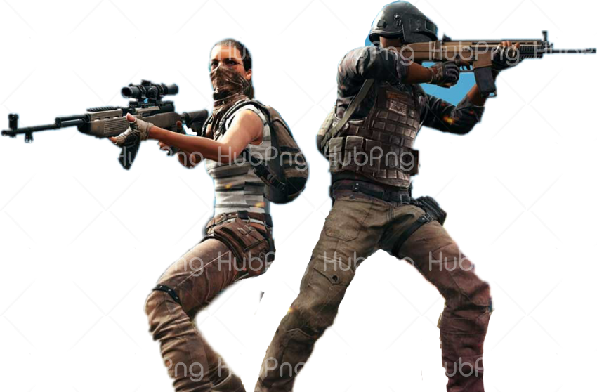pubg character png Transparent Background Image for Free