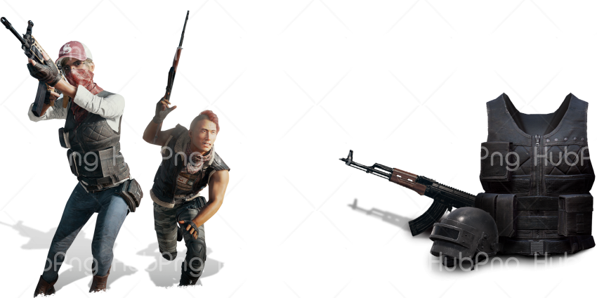 pubg character png game Transparent Background Image for Free