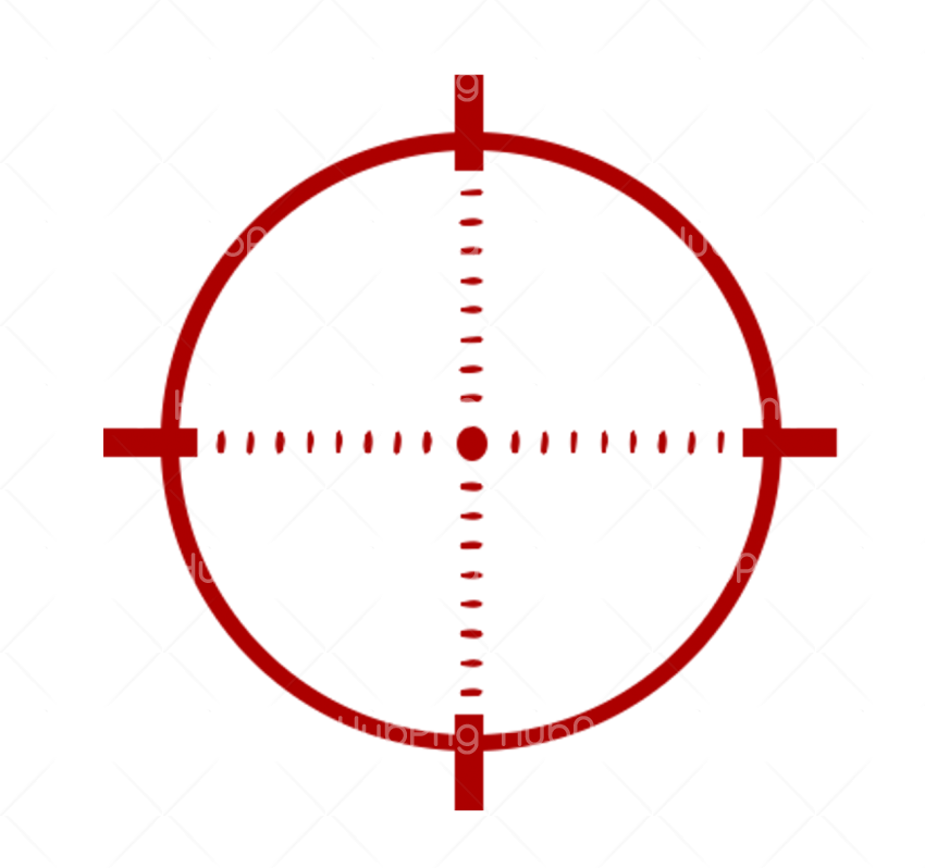 Punto de mira Telescopic sight  Crosshair red PNG clipart Punto de mira Transparent Background Image for Free
