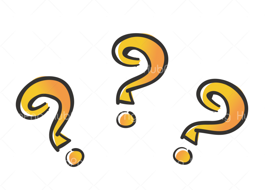 question mark clipart hd Transparent Background Image for Free