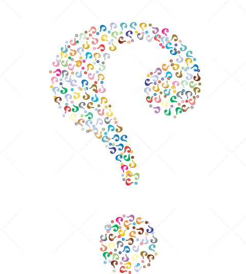 question mark hd png colores Transparent Background Image for Free