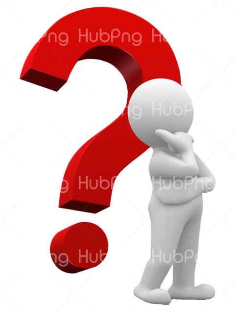 Question Mark Png Thinking Transparent Background Image For Free