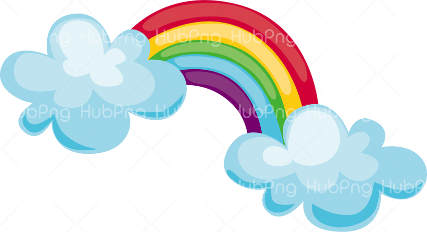 rainbow png clipart Transparent Background Image for Free