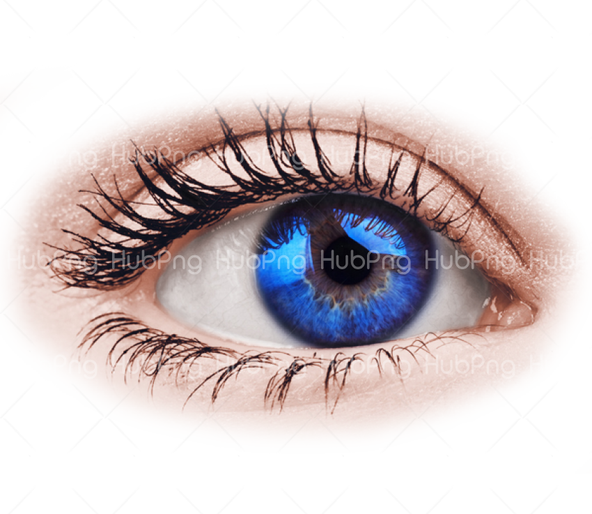 real blue eye png hd Transparent Background Image for Free