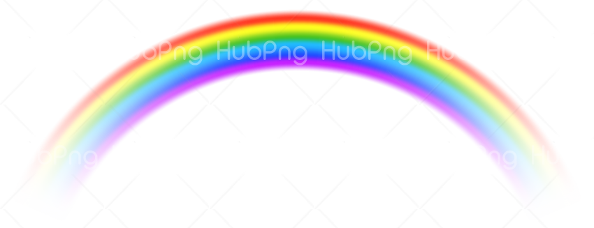 real rainbow png Transparent Background Image for Free