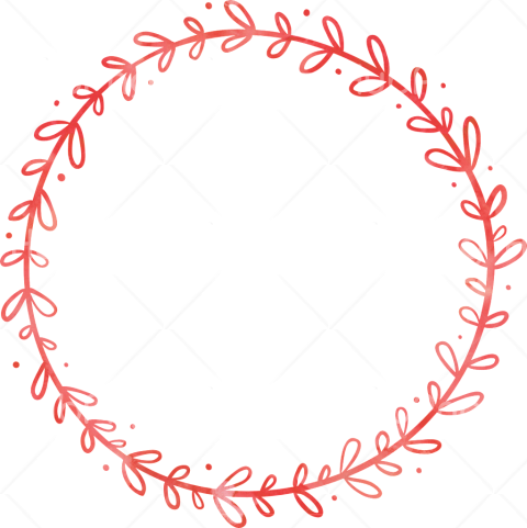 red circle png frame Transparent Background Image for Free