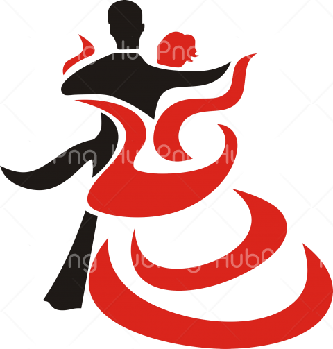 red dance icon png Transparent Background Image for Free