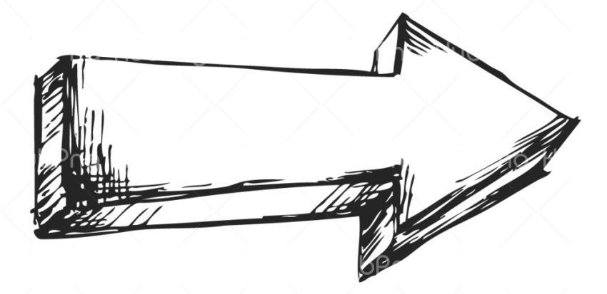 Right Arrow PNG Draw Transparent Transparent Background Image for Free