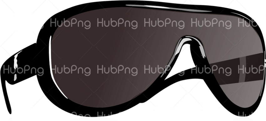 round chasma png black Transparent Background Image for Free