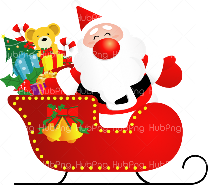 santa cartoon claus png papa noel photo Transparent Background Image for Free