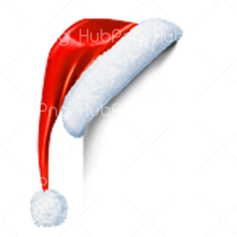 santa claus christmas hat png Transparent Background Image for Free