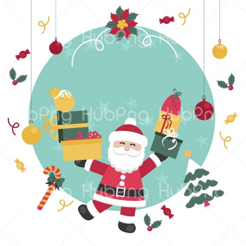 santa claus clipart png cartoon Transparent Background Image for Free