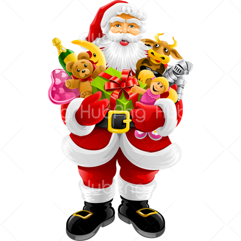 santa claus merry christmas png Transparent Background Image for Free