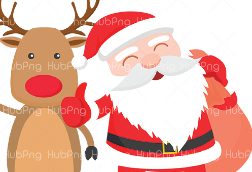 santa claus papa noel png Transparent Background Image for Free