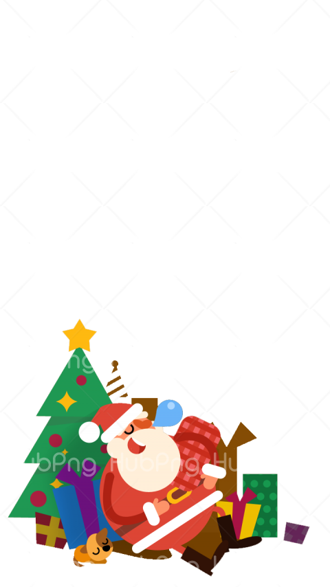 santa claus png clipart Transparent Background Image for Free