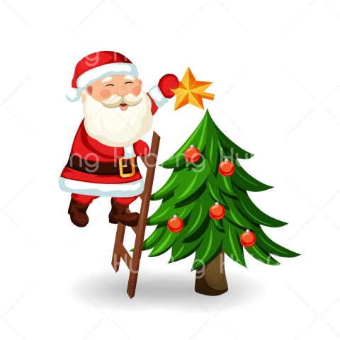 santa clipart christmas png Transparent Background Image for Free