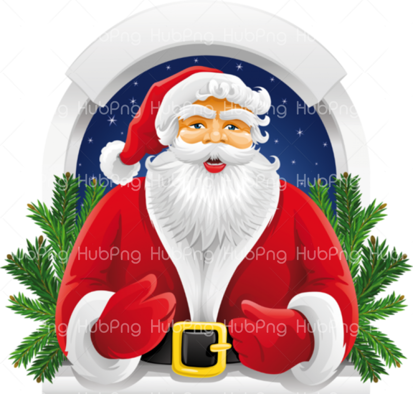 cute santa clipart hd png Transparent Background Image for Free